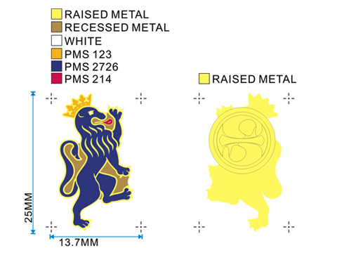 Exclusive Enamel Pin Badge Designs