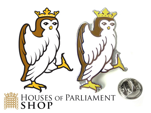 custom made owl enamel pin badges produced with pantone matching enamel