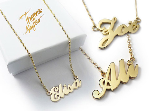 Wholesale personalised gifts personalised pendants custom name personalised gold carrie name necklaces aloadofball Gallery