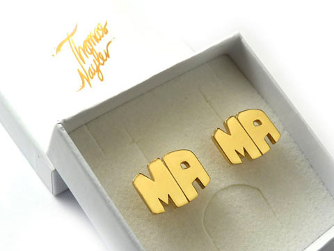 gold cufflinks make great personalised gifts
