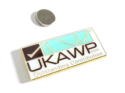 lapel pin badge with magnet