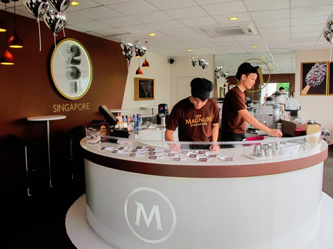Magnum Infinity product launch