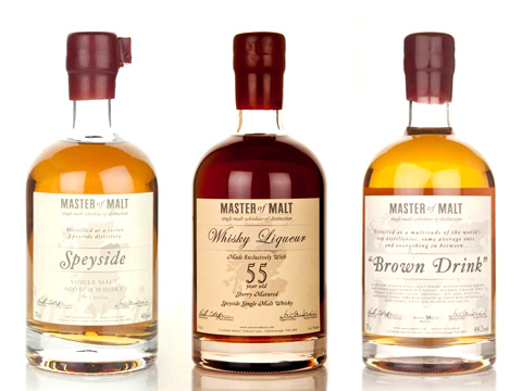 Masters of Malt, manufacturer and supplier of fine whisky