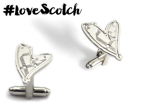 Love Scotch cufflinks
