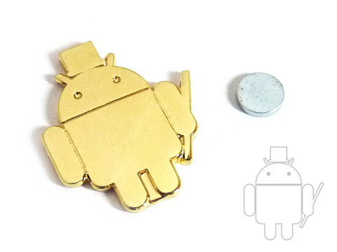 Android lapel pins