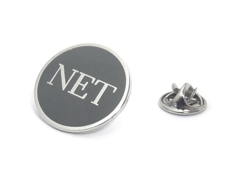NET enamel badges