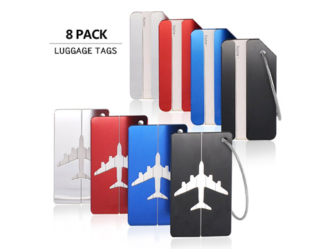 Private Fly travel luggage tags